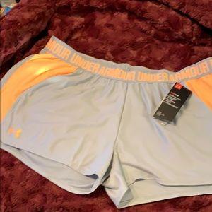 NWT Underarmour Athletic Shorts Suze XL